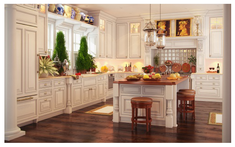 Classic Kitchen Design Malaysia | Best Europe Kitchen Style